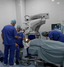 زيارة الوفد الالماني للمستشفى