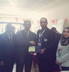 مشاركة في فعاليات اليوم الوظيفي في جامعة جرش