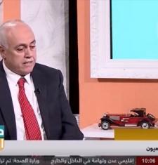 استضافة المدير العام الدكتور موسى بيضون على قناة يمن شباب و الحديث عن  دراسة حديثة لعلاج ضعف الإبصار