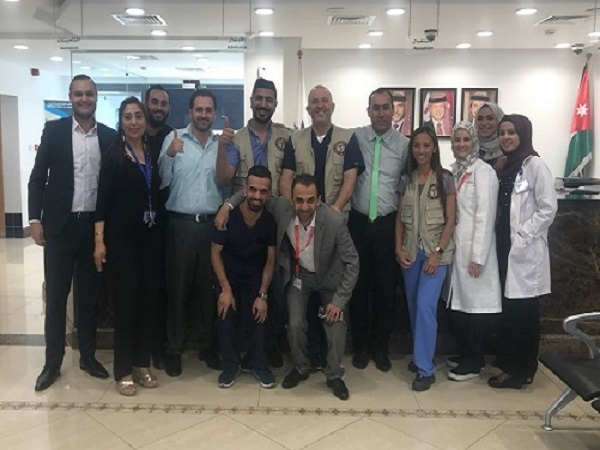 HOSTING SYRIAN AMERICAN MEDICAL SOCIETY (SAMS) IN 20-21 April 2019